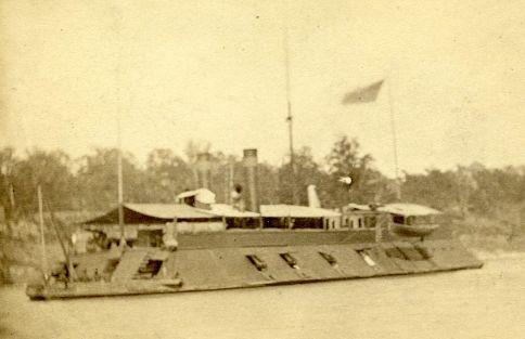 USS LOUISVILLE: Ironclad river gunboat