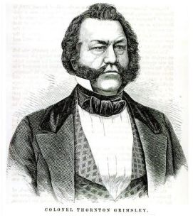 Colonel Thornton Grimsley,  commander of the