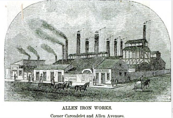 St Louis Allen Iron Works